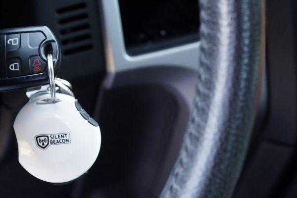 GPS Emergency Beacon Keychain